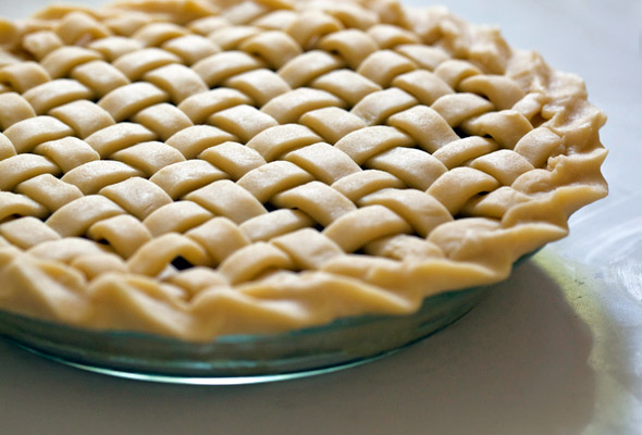 Cherry Pie Lattice Top