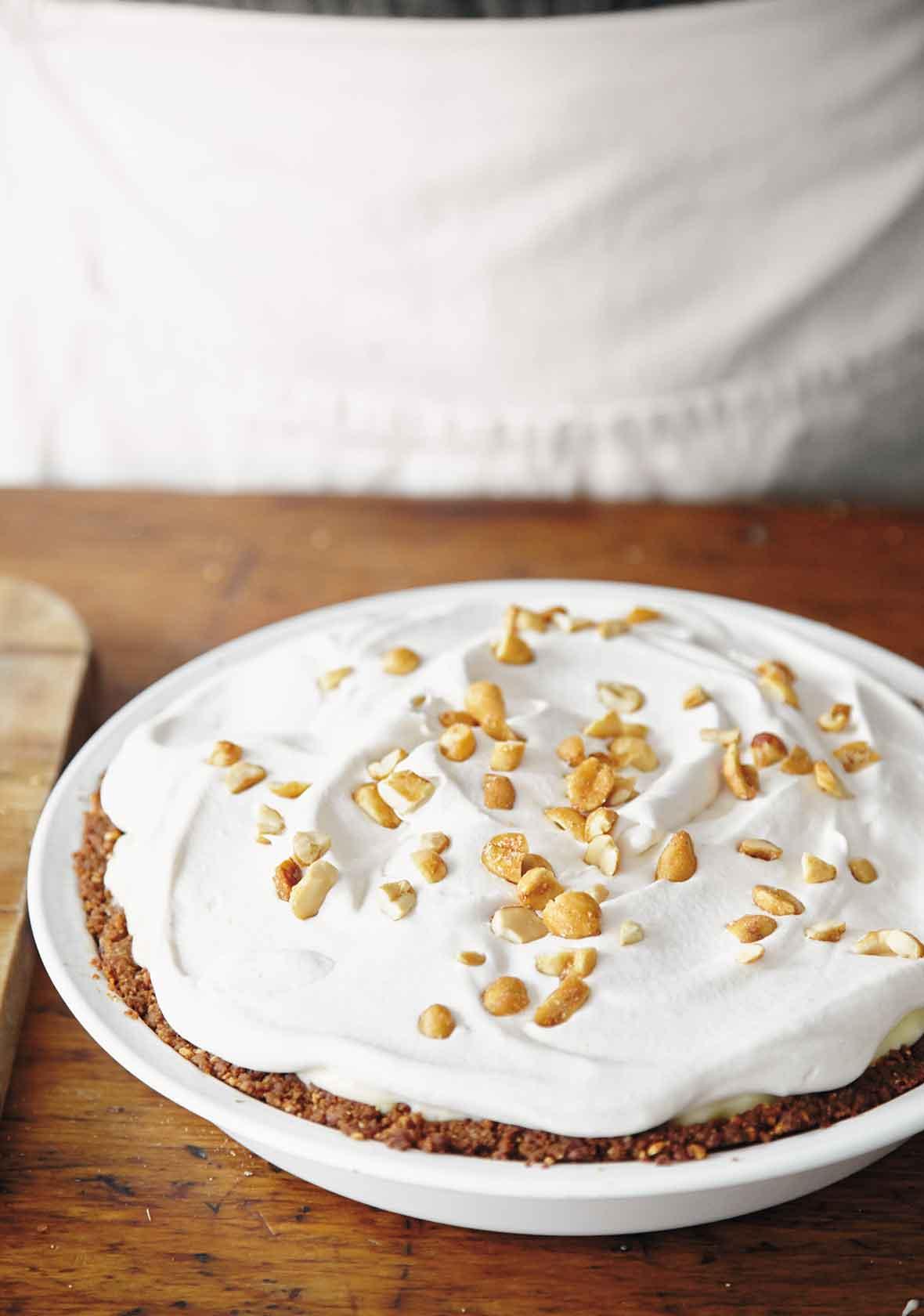 Peanut Butter Pie (aka Elvis Pie)