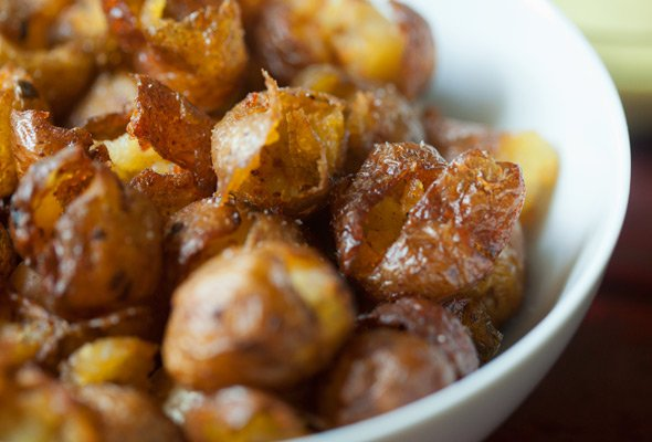 Smoked Pickled Potatoes
