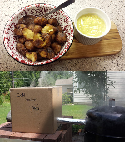 Smoked Pickled Potatoes Recipe