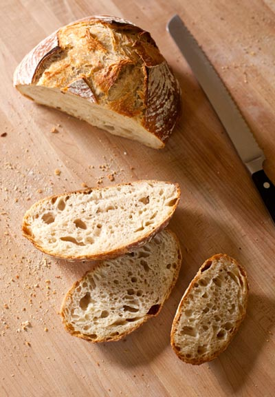 Artisan Bread with Holes