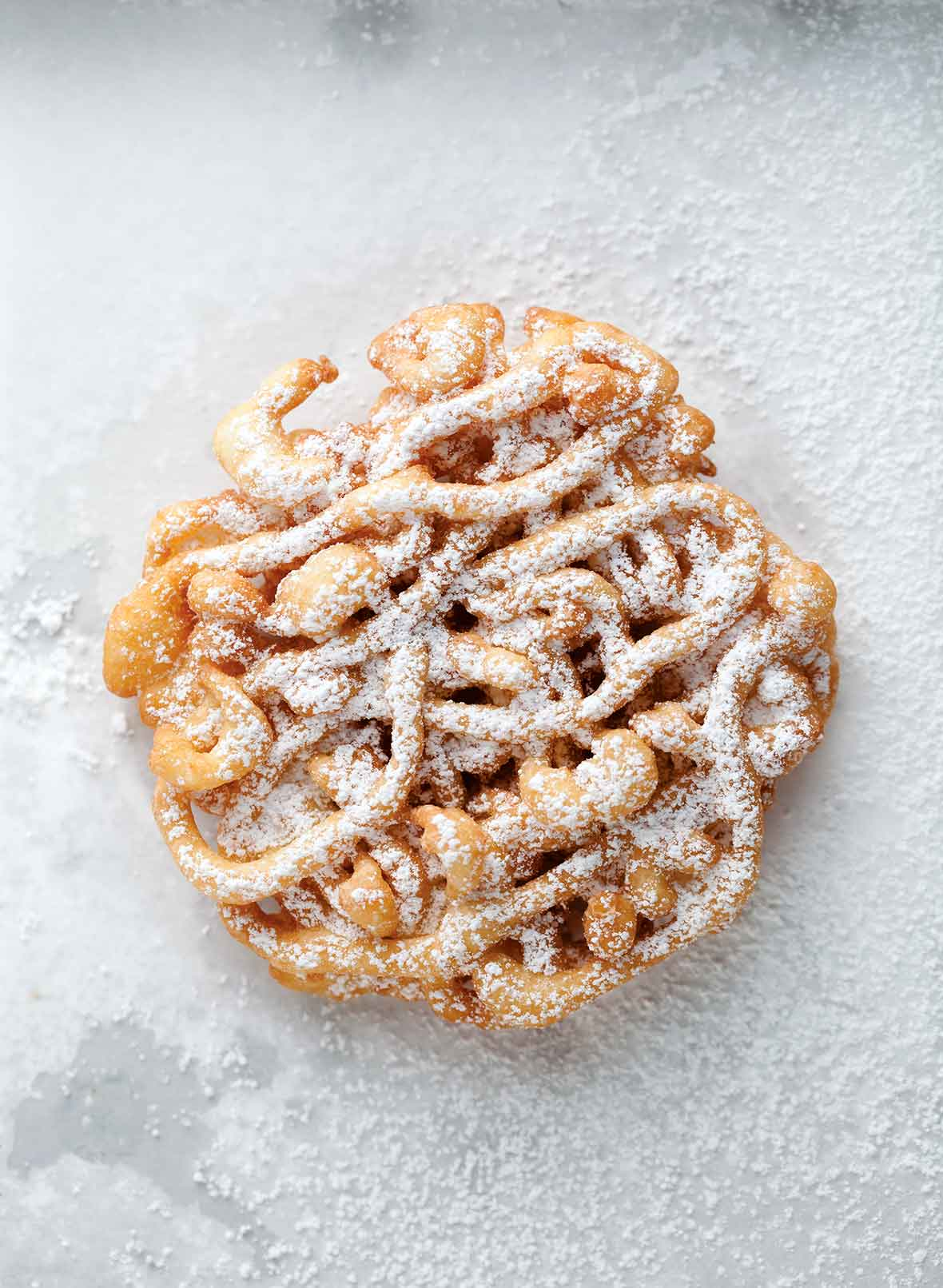 Make A Funnel Cake With Pancake Mix