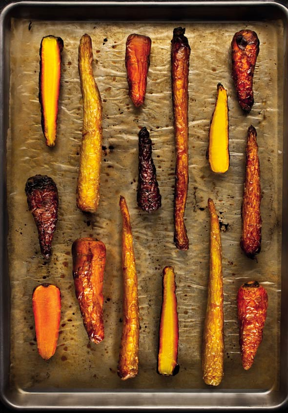 Roasted Carrots With Duck Fat