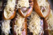 Grilled Beer-Braised Bratwursts Recipe