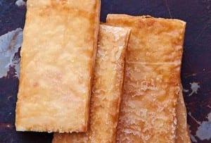 Honey Phyllo Crisps