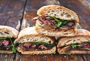 Jamie Oliver's Steak Sandwich