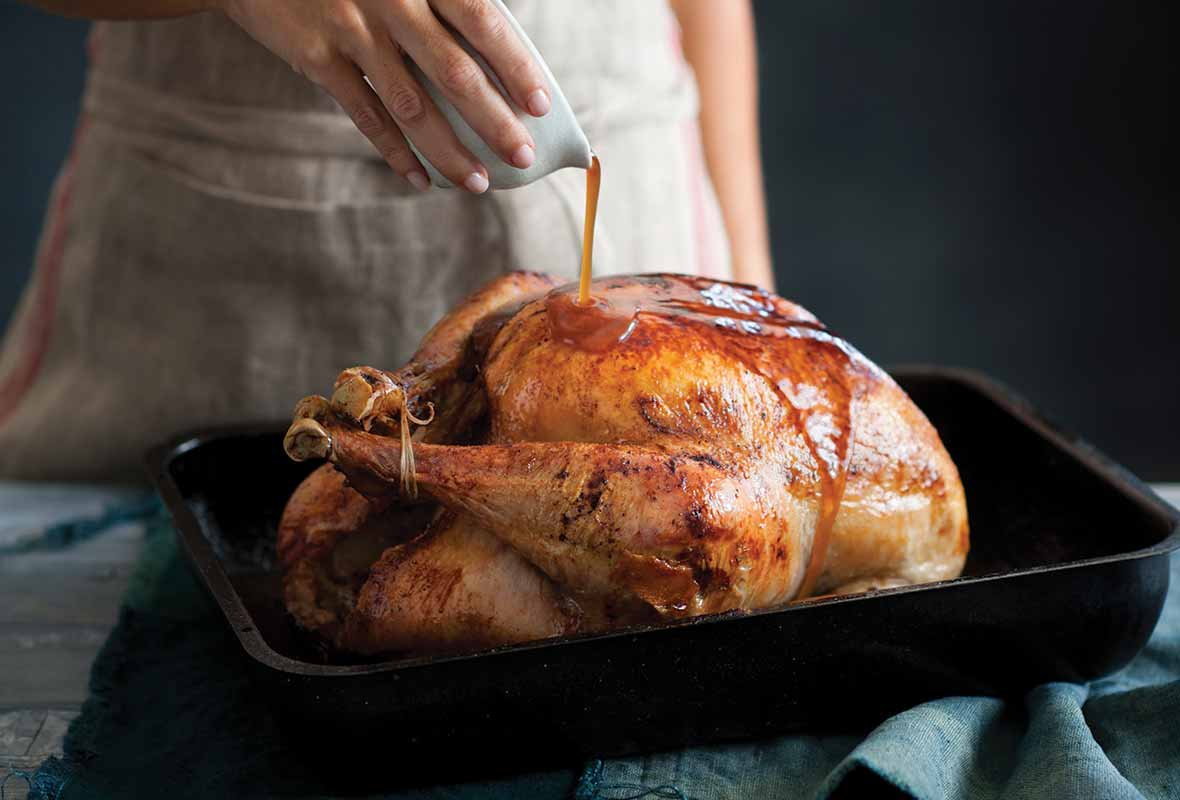 Maple Glazed Turkey Recipe