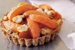 Apricot and Goat Cheese Tarts