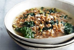 Greens and Grains Soup