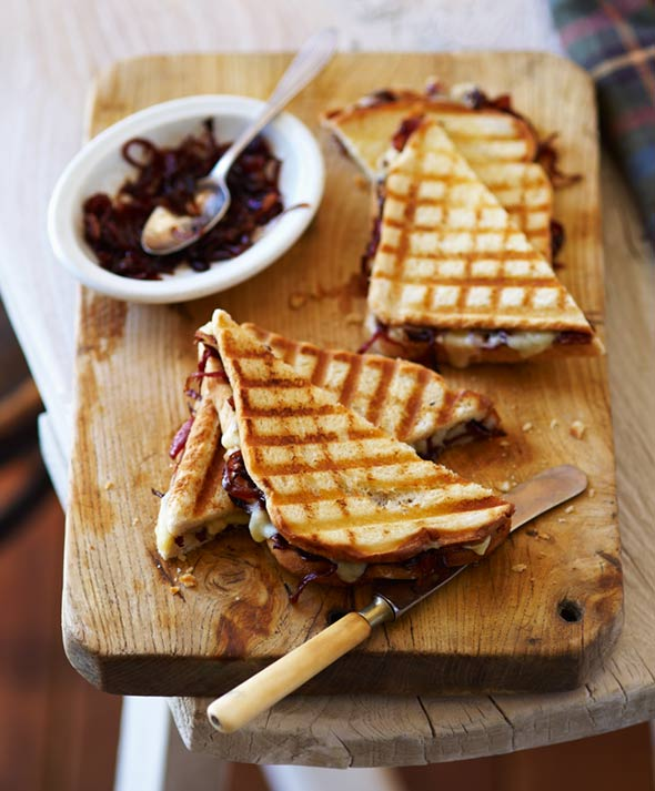 Grilled Cheese with Onion Jam