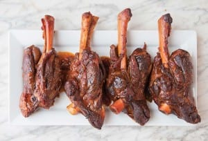 Lamb Shanks with Coffee and Ancho Chile