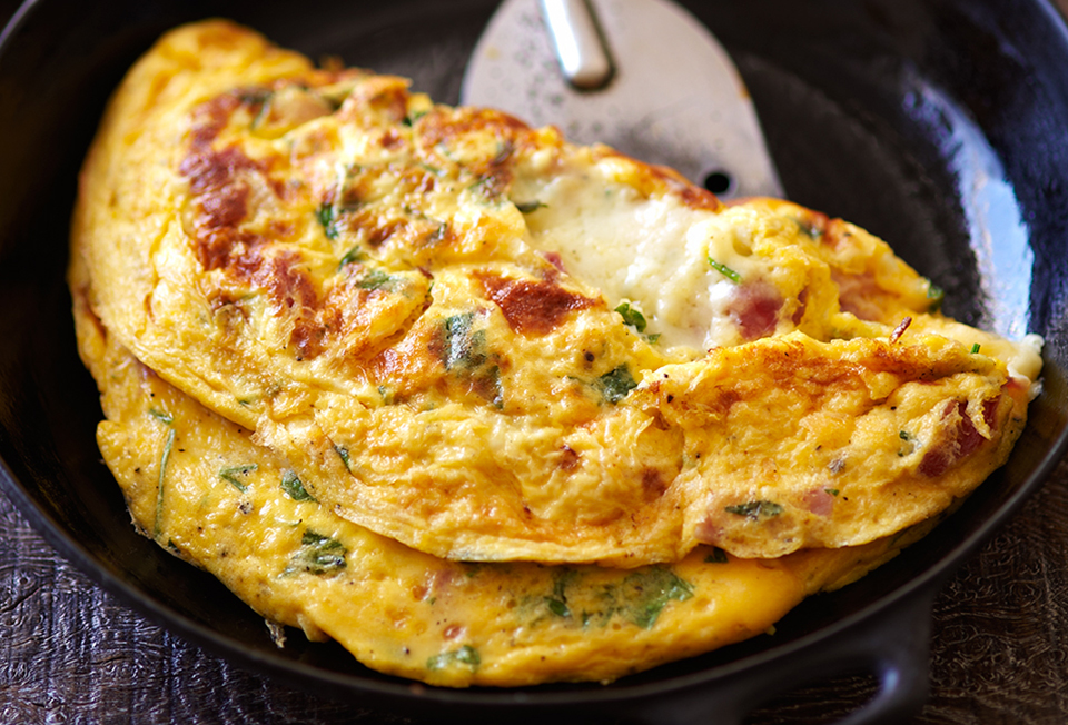 Ham And Cheese Omelet Recipe Leite S Culinaria
