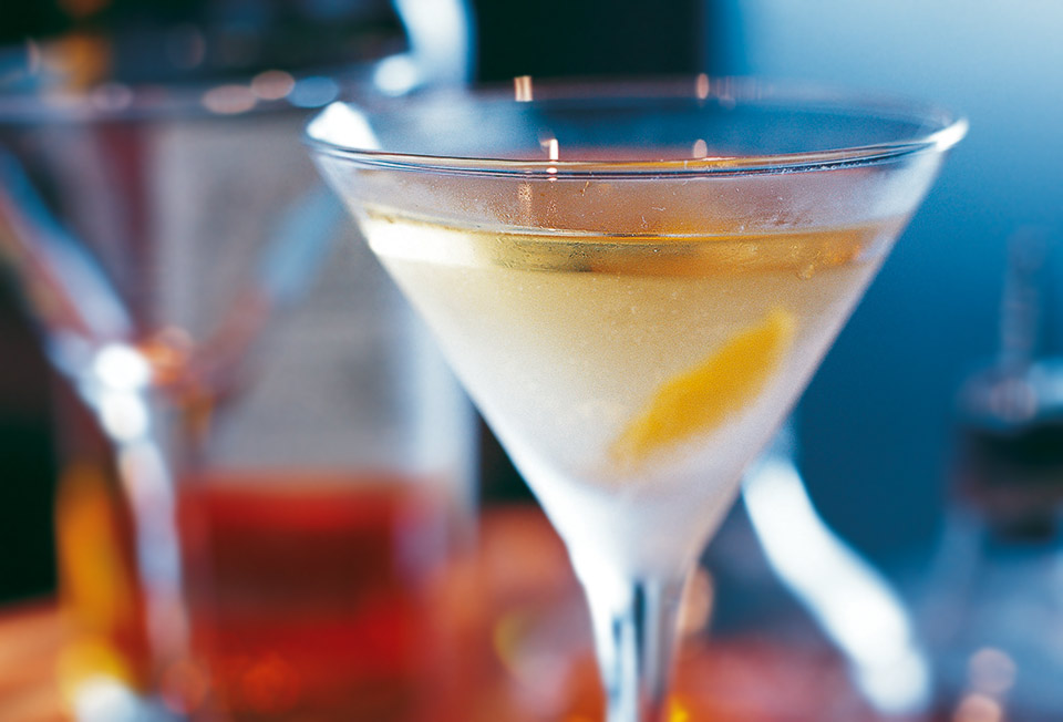 Smokey Martini