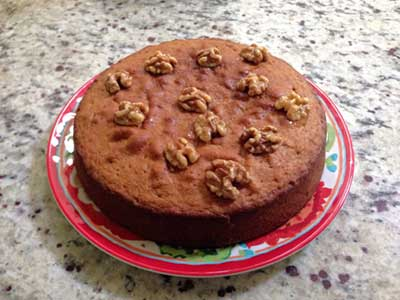 Honey Walnut Cake Recipe