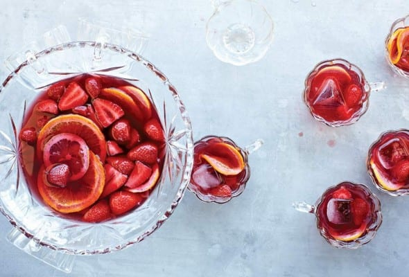 Strawberry Sangria