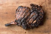 Cowboy Steak with Coffee Rub