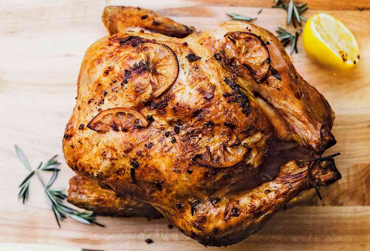Whole Grilled Chicken Recipe Leite S Culinaria