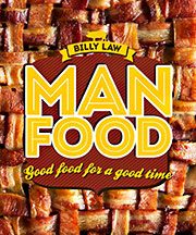 Buy the Man Food cookbook