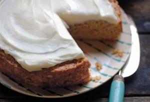 Summer Squash and Banana Cake