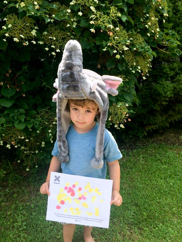 Luca and World Elephant Day
