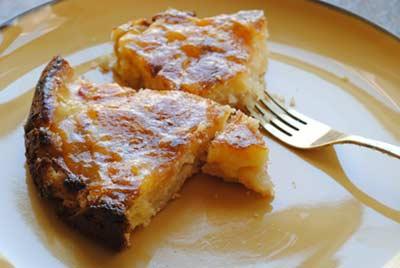 Peach Cream Tart Recipe