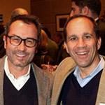 Sasa Mahr-Batuz and Andy Pforzheimer