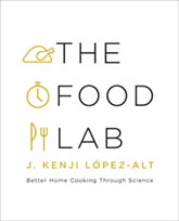 Buy the The Food Lab cookbook