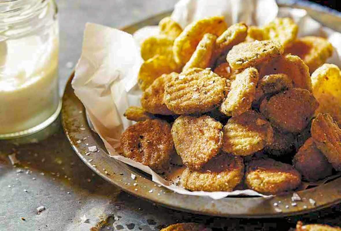 Easy Fried Pickles Recipe Leite S Culinaria