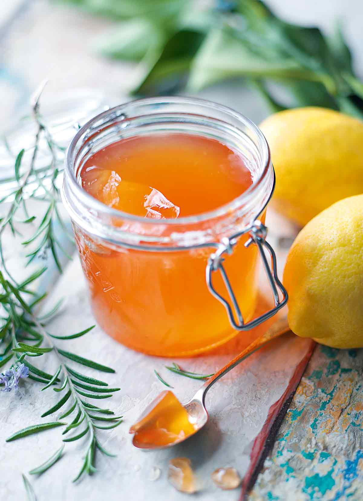 Honey, Rosemary, and Apple Jelly Recipe
