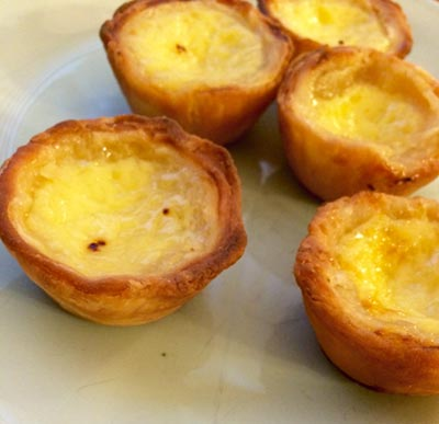 pasteis de nata recipe portuguese custard tarts leite. Black Bedroom Furniture Sets. Home Design Ideas