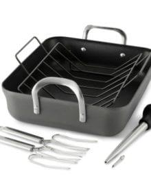 Calphalon Nonstick Roaster Pan Set