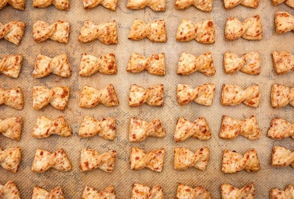 Bow Tie Cheese Straws Recipe