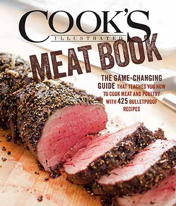Buy the Cook's Illustrated Meat Book cookbook