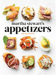 Buy the Martha Stewart's Appetizers cookbook
