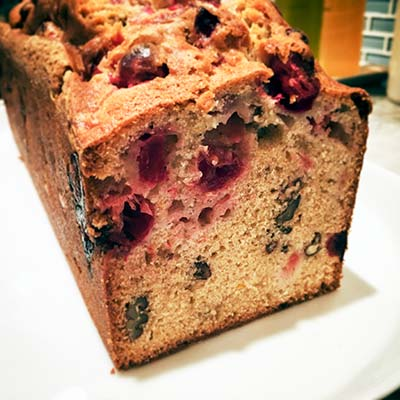 Cranberry-Orange Pecan Bread Recipe