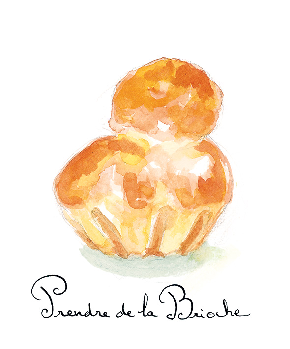 Edible French Prendre de la Brioche