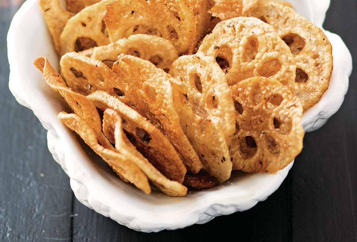 Chinese Food Lotus Root