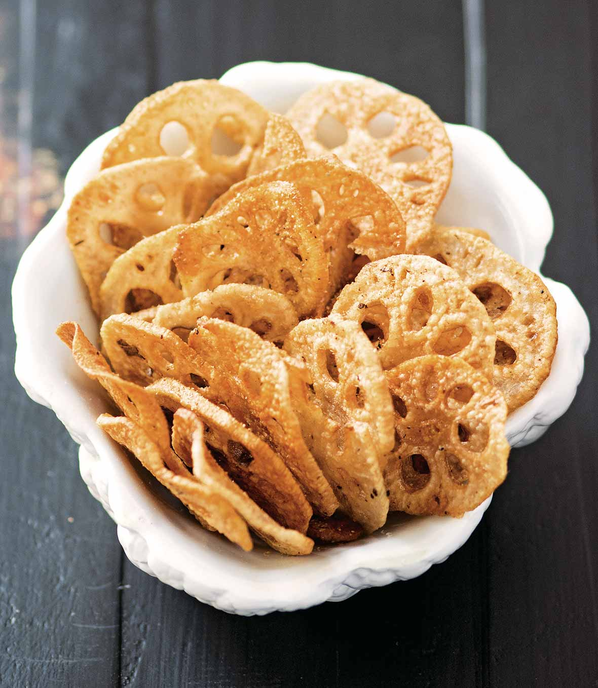 Lotus Root Chips Recipe Leites Culinaria