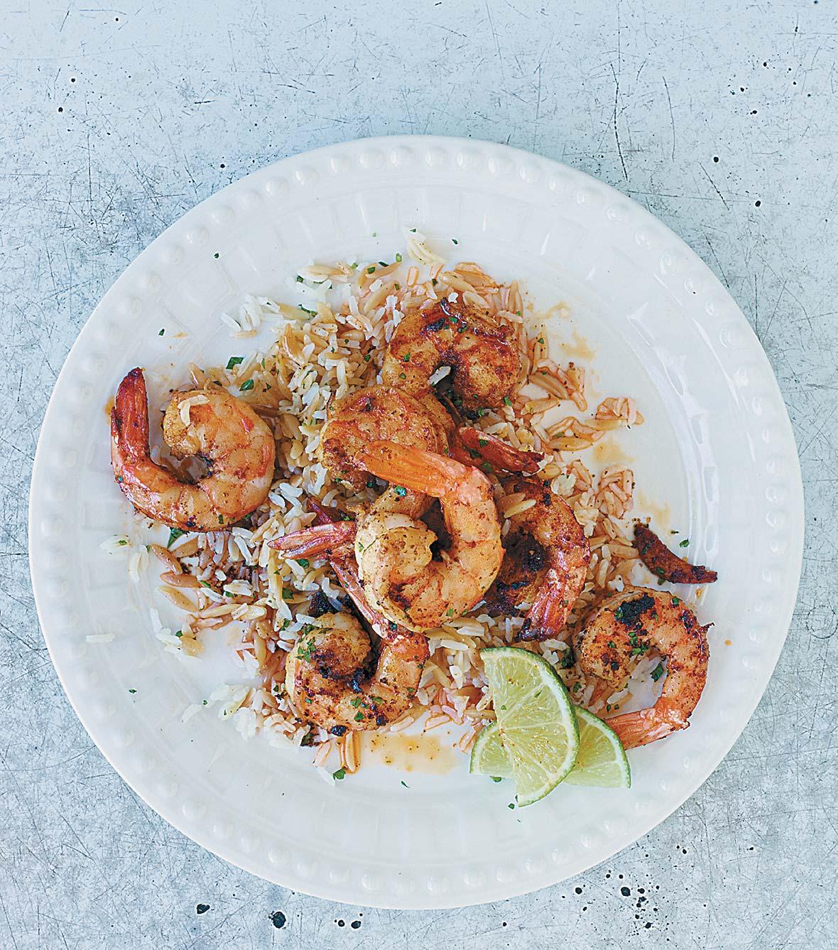 Smoky Sauteed Shrimp