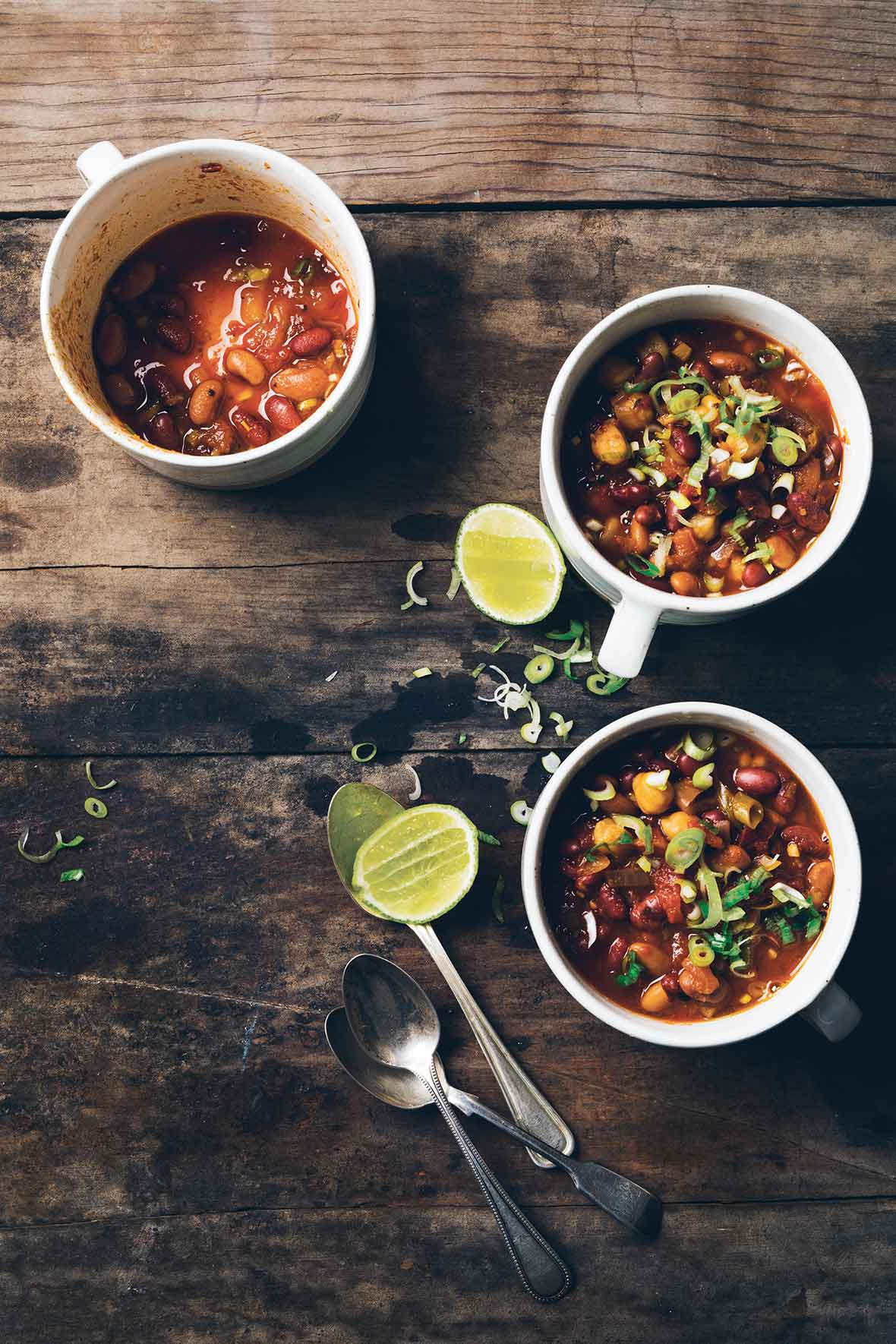 Three-Bean Chipotle Chili