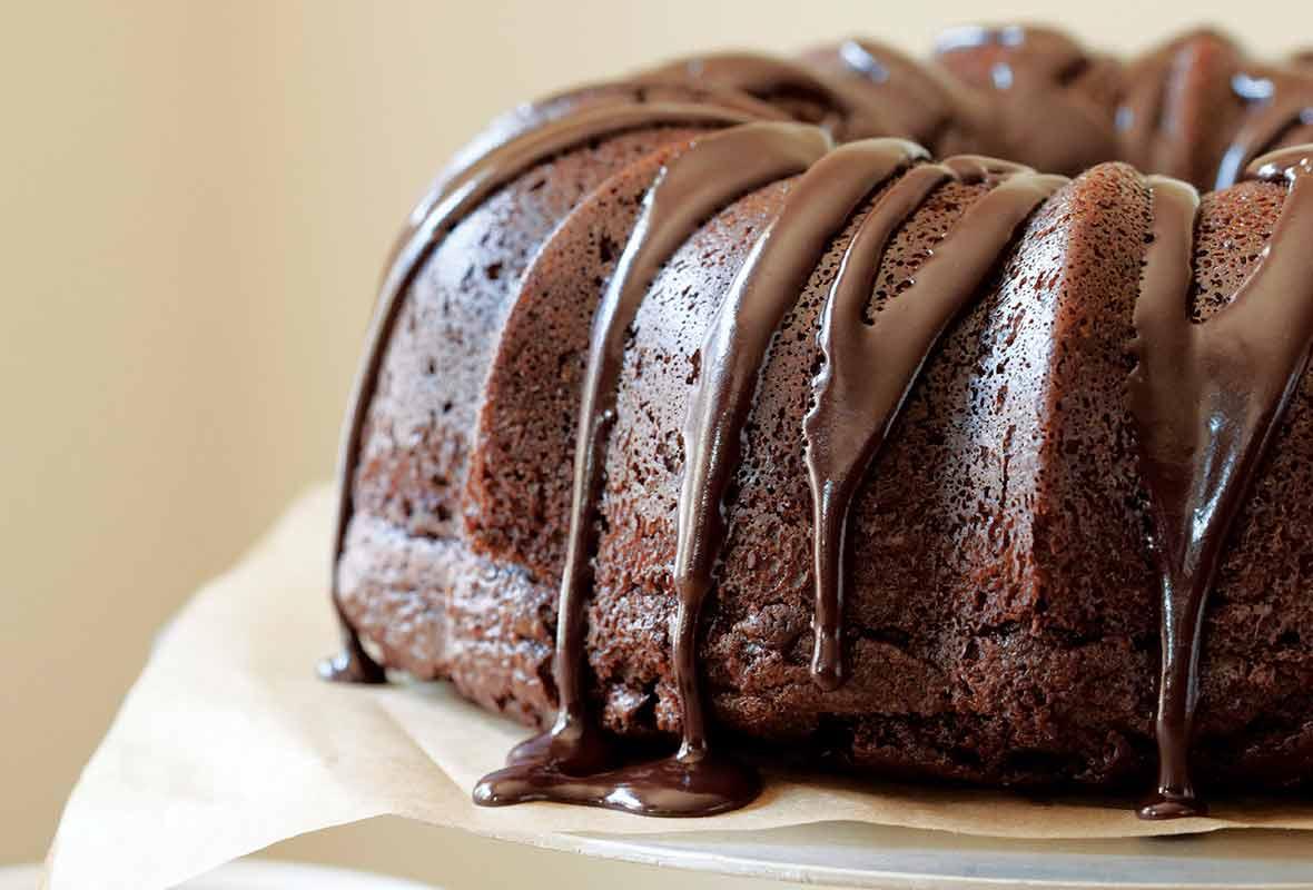 Sour Cream Pound Cake Glaze