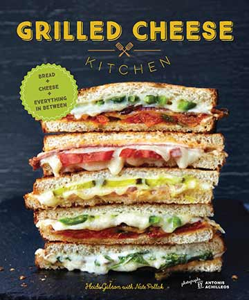 Buy the Grilled Cheese Kitchen cookbook