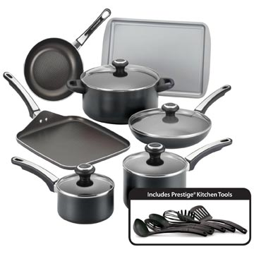 Farberware 17-Piece Cookware Set