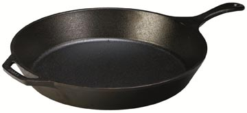 Lodge Logic 15-Inch Cast-Iron Skillet
