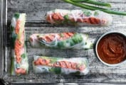 Salmon Summer Rolls Recipe