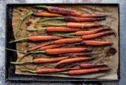 Slow Roasted Carrots