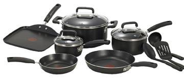 T-Fal 12-Piece Cookware Set