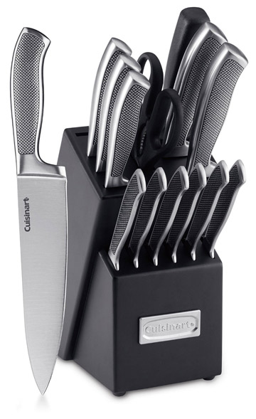 Cuisinart 15-Piece Graphix Knife Block Set