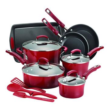 Rachael Ray 14-Piece Cookware Set