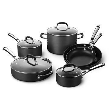 Simply Calphalon Nonstick Cookware Set